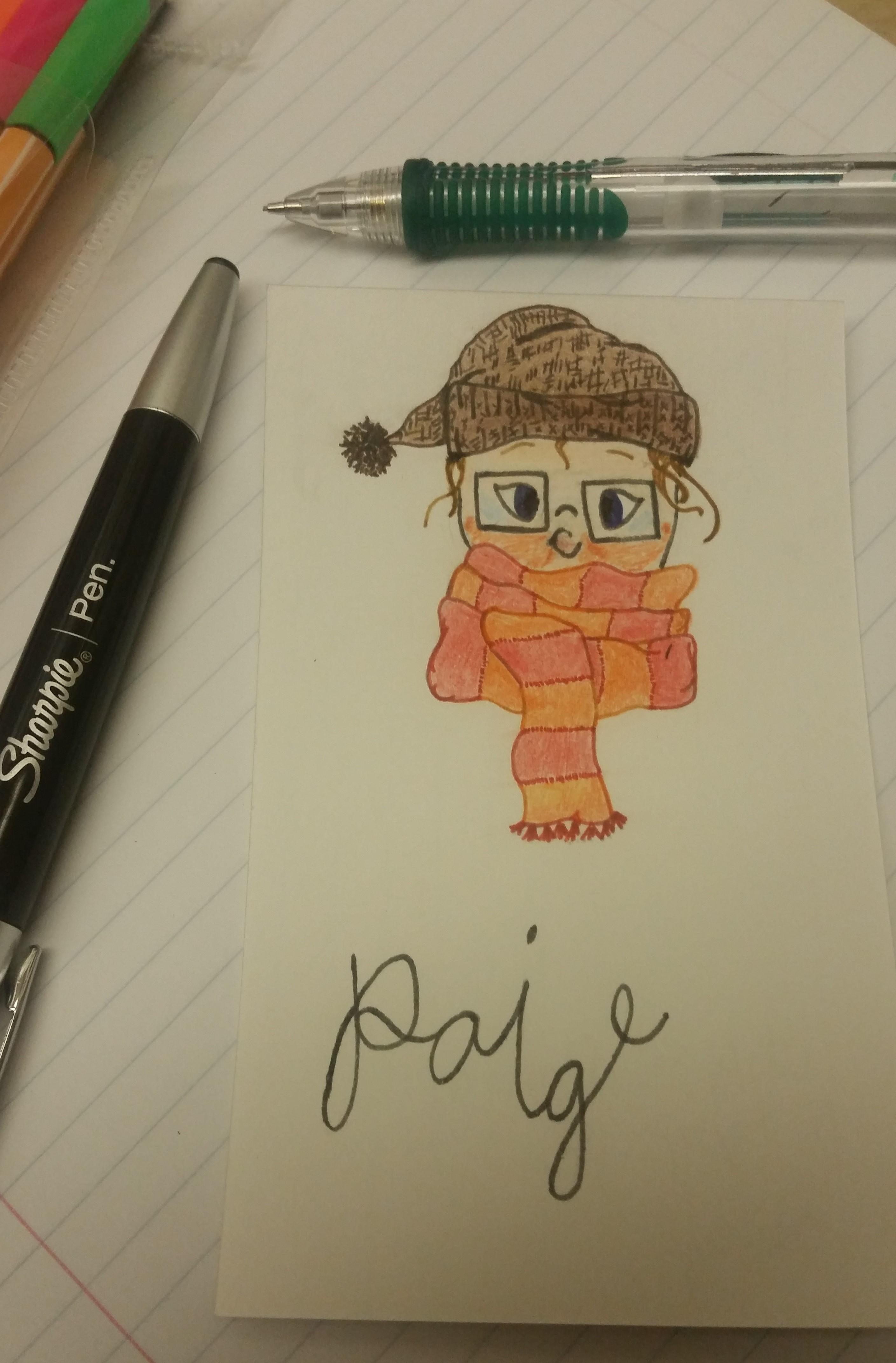 Paige Cartoon