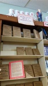 Blind date with a bookseller - Malaprops, Asheville NC