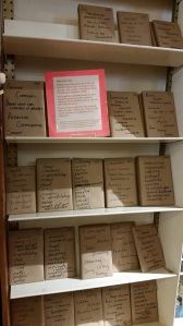 books wrapped as blind dates