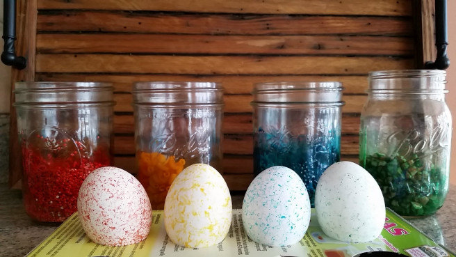 DIY Marbled Easter Eggs