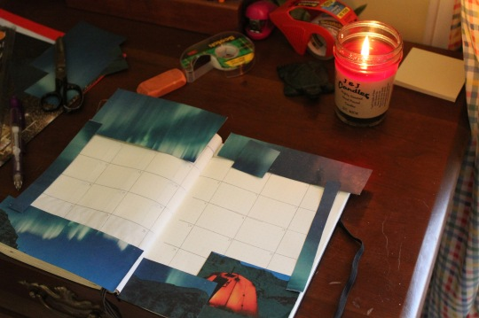 Bullet journal creation