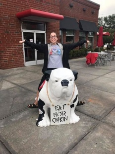 Chick-Fil-A Bulldog
