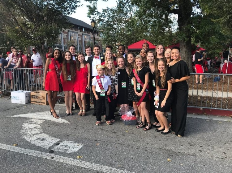 Homecoming Committee and Court