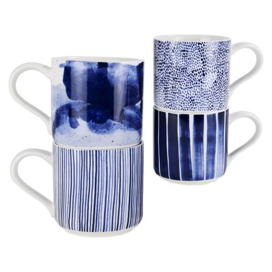 Target Indigo Mug Set