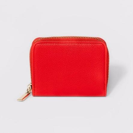 Target Red Wallet
