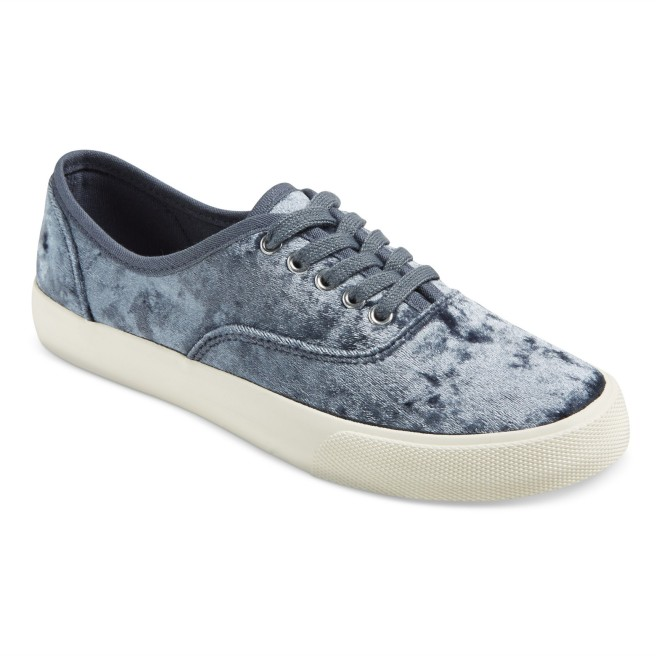 Target Velvet Sneakers