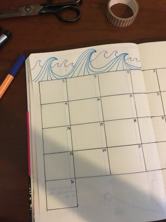 step-by-step bullet journal creation